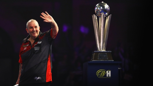 The 57-year-old was beaten 7-2 by Rob Cross in the PDC World Championship Final