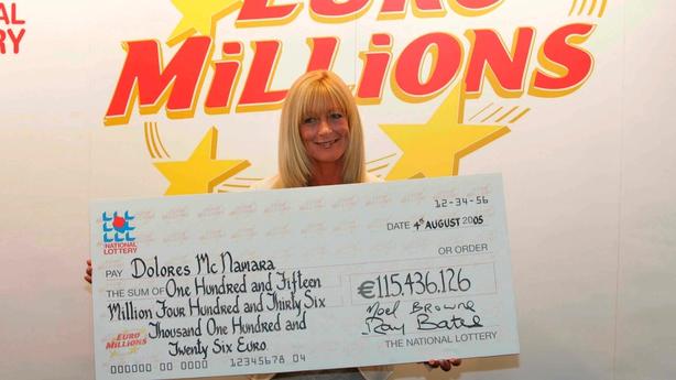 Irish ticket holder scoops €175m EuroMillions jackpot