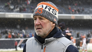 John Fox marches out of Soldier Field after three years with the Bears