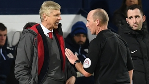 Arsene Wenger will serve a touchline ban for Arsenal's next three matches