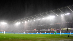 Nice weather for ducks at the home of the Swans