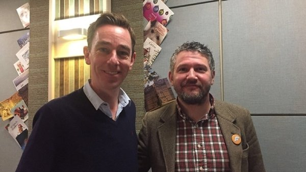 Ryan Tubridy and First Fortnight founder JP Swaine