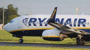 Ryanair said the issue was being dealt with by the Spanish authorities (File pic)