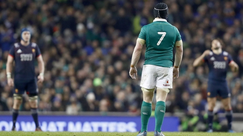 Seán O'Brien is likely to miss at least Ireland's opening Six Nations match against France