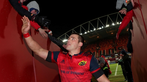CJ Stander: 'If I'm fit enough and healthy enough, the World Cup was a big drive for me to stay.'