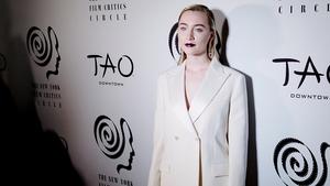 Saoirse Ronan at the New York Film Critics' Circle Awards on Wednesday night