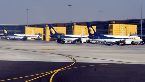 Jet Airways said it was investigating claims that a male pilot slapped his female colleague