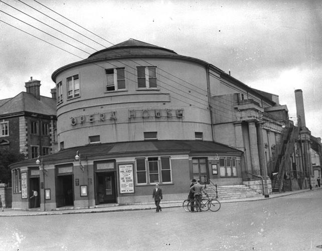 Cork Opera House, circa August (1955)