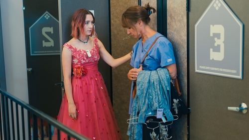 Saoirse Ronan and Laurie Metcalf: one long squabble interrupted briefly by moments of warmth and love