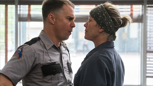 Three Billboards stars Sam Rockwell and Frances McDormand were among the award winners