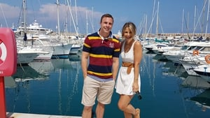 Vogue Williams and Tommy Bowe head for Cote D'Azur