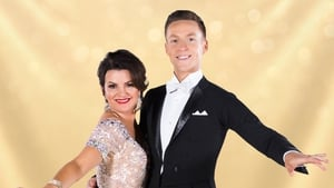 Deirdre O'Kane with partner John Edward Nolan -