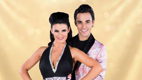 Jake Carter and his professional dance partner Karen Byrne
