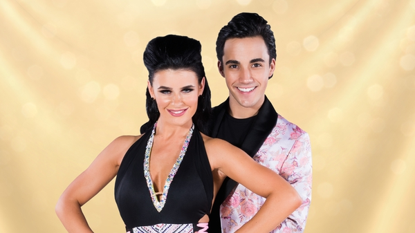 Jake Carter and his professional dance partner Karen Byrne