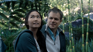 Hong Chau and Matt Damon star in Downsizing