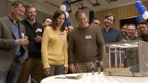 Kristen Wiig and Matt Damon star in Downsizing