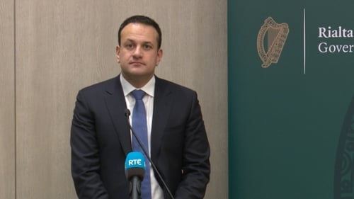 Taoiseach Leo Varadkar was speaking from Budapest, where he met the Hungarian Prime Minister