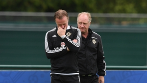 Northern Ireland assistant manager Jimmy Nicholl has joined his old club Rangers as No. 2
