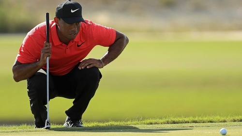 Tiger Woods: 'I had a good shot at winning this golf tournament.'