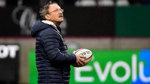 New France head coach Jacques Brunel