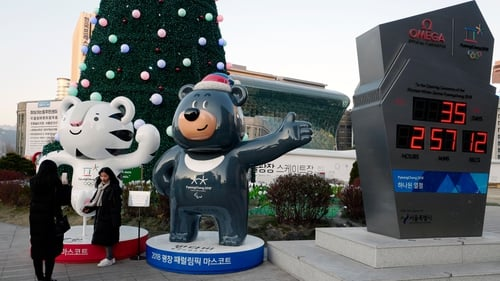 The Winter Olympics get under way in Pyeongchang next month