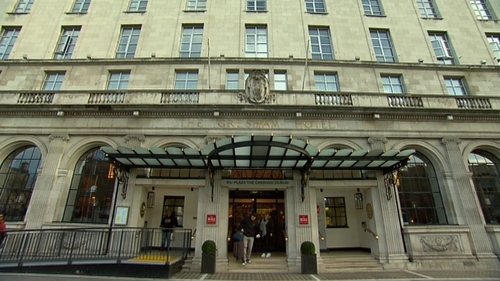 14 families have to leave the Gresham Hotel because of refurbishment works