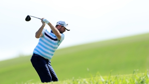 Marc Leishman in action during the second round of the Sentry Tournament of Champions