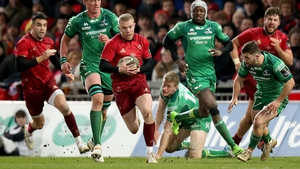 Keith Earls scored a second half try as Munster cantered to victory in the second half against Connacht
