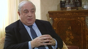 The late European Commissioner Peter Sutherland who was one of those centrally involved in the establishment of the Erasmus programme