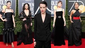 Stars on the Golden Globes red carpet