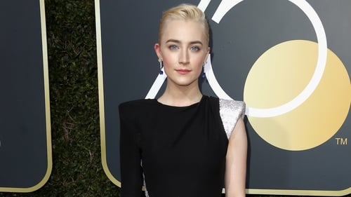 Timeless beauty - Saoirse Ronan on the Golden Globes red carpet