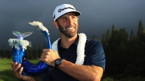 Dustin Johnson lived up to his world ranking in Haiwaii