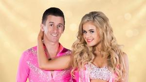 Rob Heffernan and his dancing partner Emily Barker