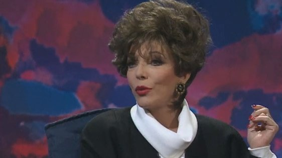 Joan Collins on Kenny Live (1998)