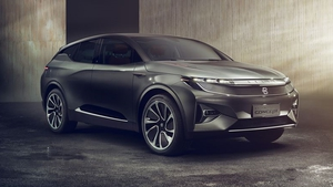 The car will have a range of up to 520km on a single charge