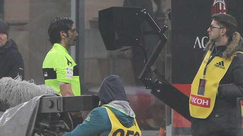The VAR is checking fewer than five decisions a game