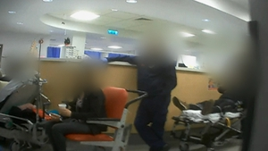 RTÉ News went undercover to film in three hospitals to find out what conditions were like