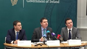 Paschal Donohoe detailed his department's economic priorities for 2018