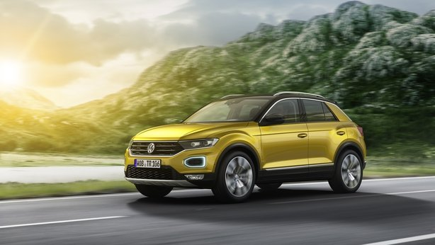VW's new compact SUV - the T-Roc.