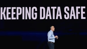 Intel CEO Brian Krzanich made the keynote speech at the opening of CES in Las Vegas