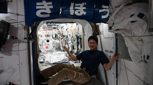 Japanese astronaut Norishige Kanai on the International Space Station (Pic: @Astro_Kanai)