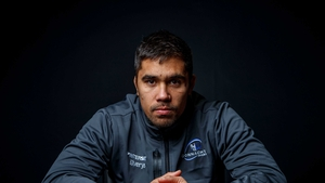 Jarrad Butler after training in Galway today