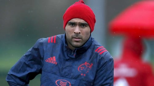 Racing Announce Simon Zebo Signing Just Days Before Huge Clash With Munster