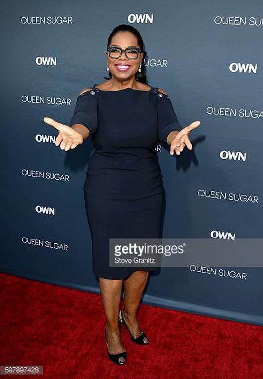 A profile of Oprah Winfrey