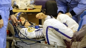 Norishige Kanai was concerned about fitting in the Soyuz seats for his return home