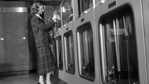 """""""While men were responsible for the building of machines, females programmed them."""" Photo: Orlando Three Lions/Getty Images"""