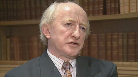 Michael D Higgins (1993)