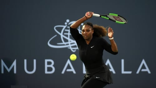 Serena Williams will return to action this week