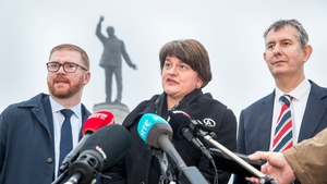 DUP leader Arlene Foster said time was running out