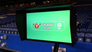 The Video Assistant Referee was called into play in the Carabao Cup semi-final at Stamford Bridge